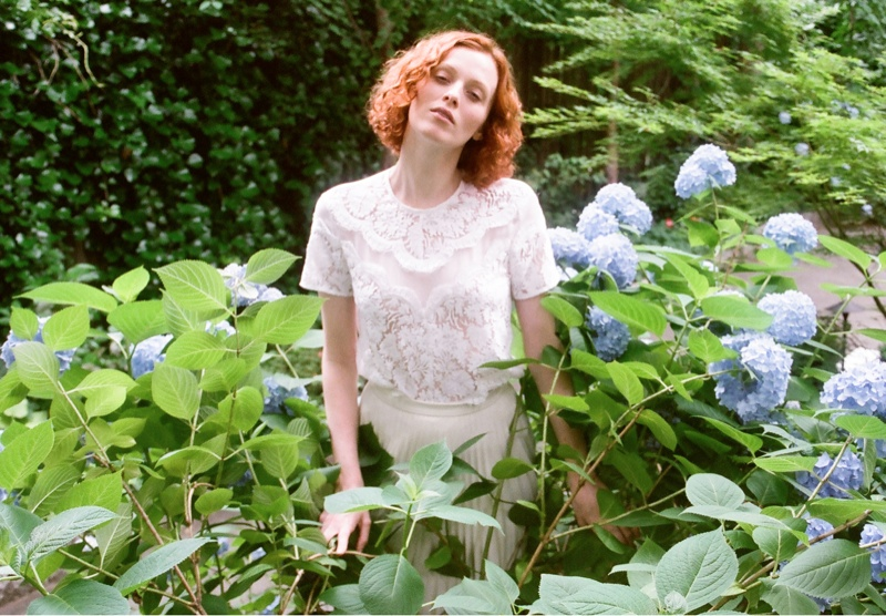 lover campaign karen elson9 Karen Elson Stars in Lovers First Ever Campaign
