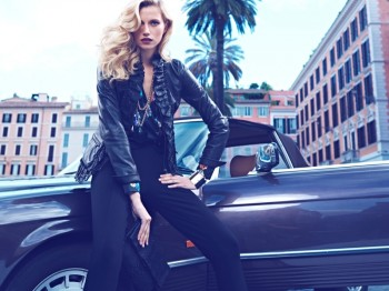Cato Van Ee Returns for Luisa Spagnoli Fall 2013 Campaign