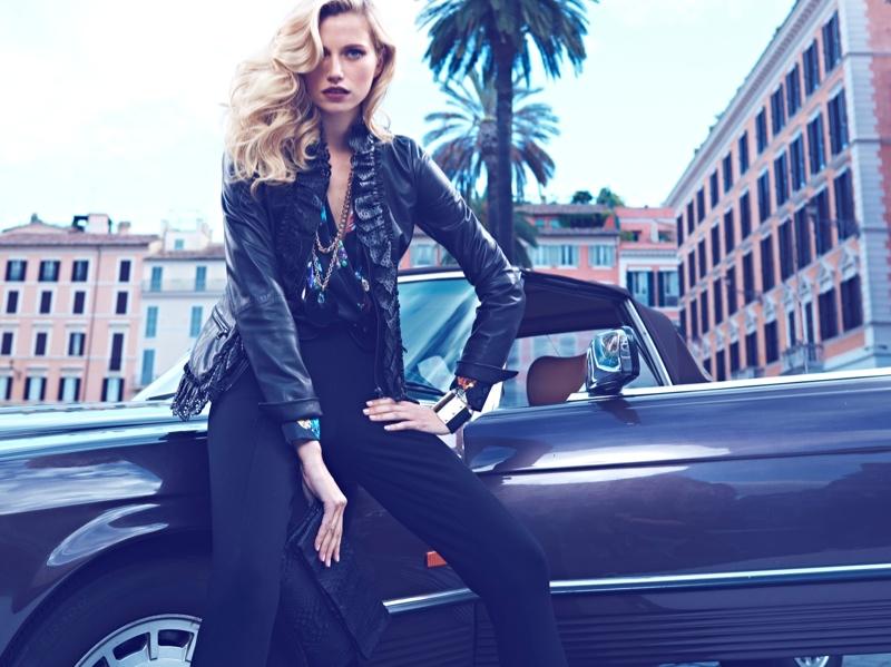 Cato Van Ee Returns for Luisa Spagnoli Fall 2013 Campaign