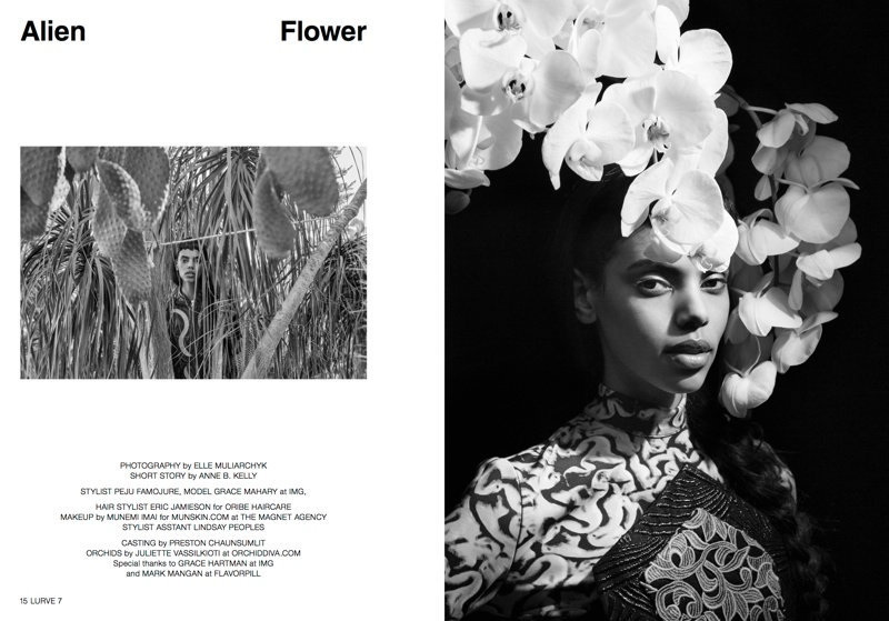 lurve grace mahary1 Grace Mahary Gets in Touch with Nature for Lurve #7 by Elle Muliarchyk