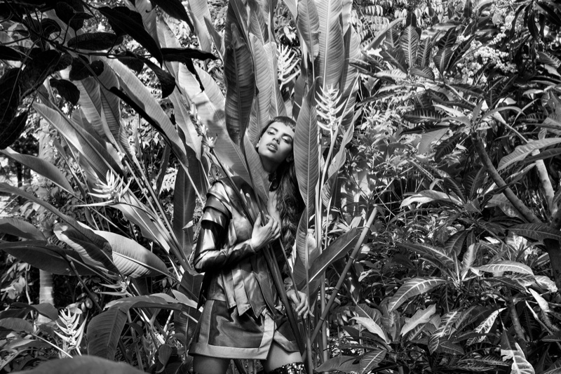 lurve grace mahary4 Grace Mahary Gets in Touch with Nature for Lurve #7 by Elle Muliarchyk