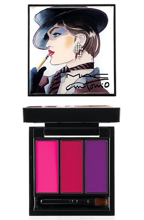 mac antonio lopez2 MAC Taps Jerry Hall, Marisa Berenson & Pat Cleveland for Antonio Lopez Makeup Collection
