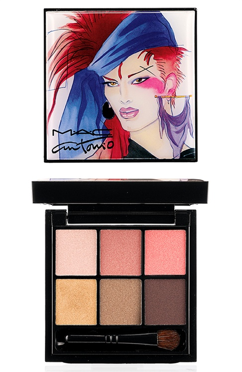 mac antonio lopez3 MAC Taps Jerry Hall, Marisa Berenson & Pat Cleveland for Antonio Lopez Makeup Collection