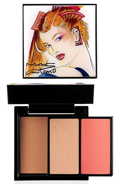 mac antonio lopez4 MAC Taps Jerry Hall, Marisa Berenson & Pat Cleveland for Antonio Lopez Makeup Collection