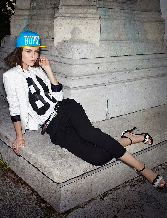 marie claire zoltan2 Adrienn Dencsi is Casual Chic for Zoltan Tombor in Marie Claire Hungary