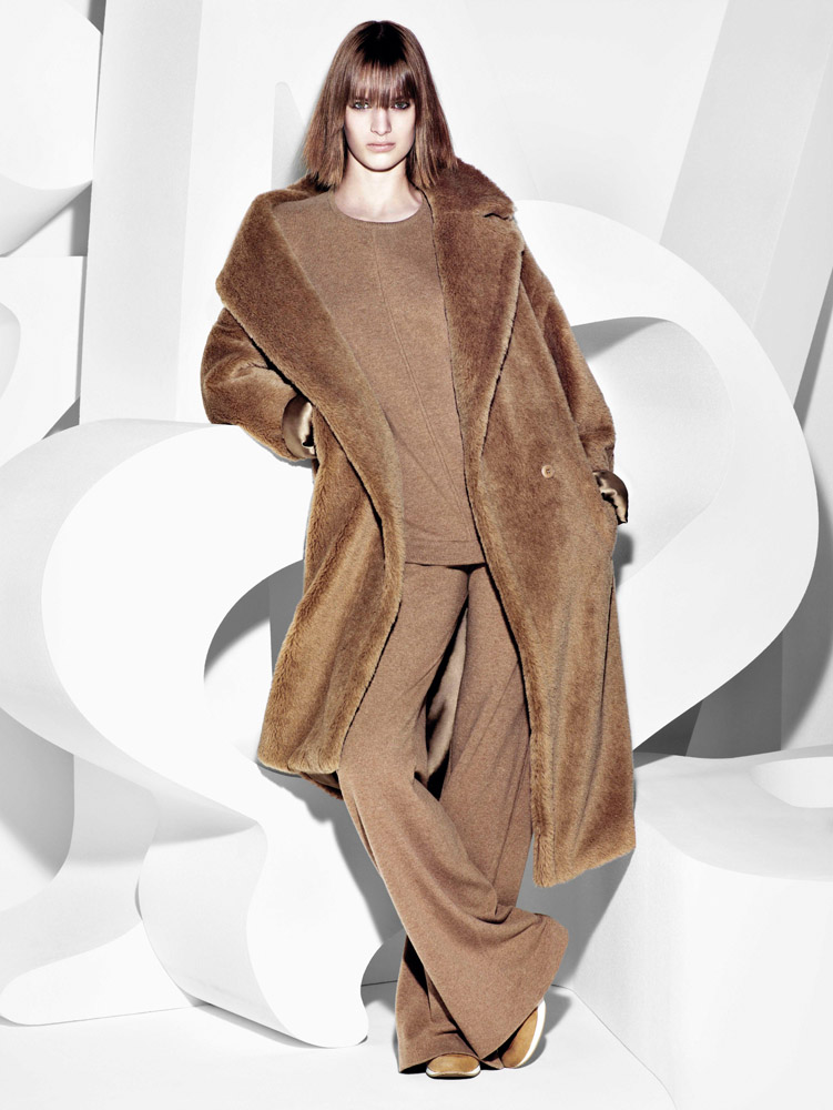 max mara campaign fall1 Ashleigh Good Stars in Max Mara Fall 2013 Campaign by Mario Sorrenti