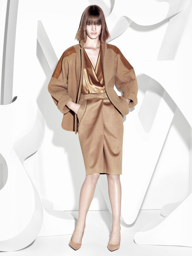 max mara campaign fall3 Ashleigh Good Stars in Max Mara Fall 2013 Campaign by Mario Sorrenti