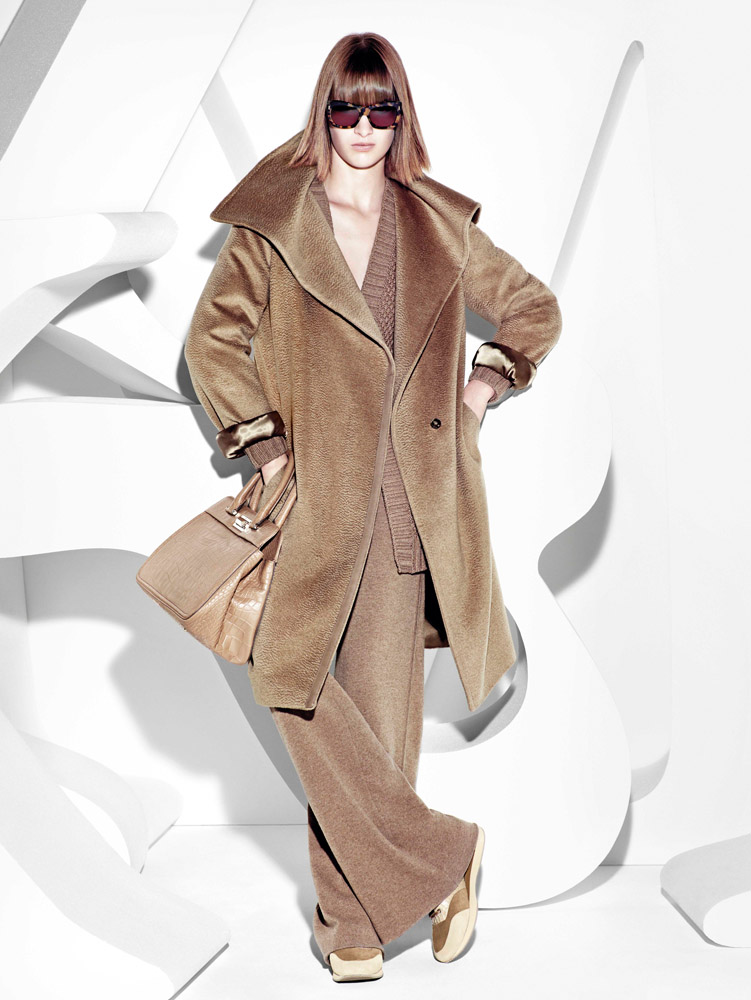 max mara campaign fall4 Ashleigh Good Stars in Max Mara Fall 2013 Campaign by Mario Sorrenti