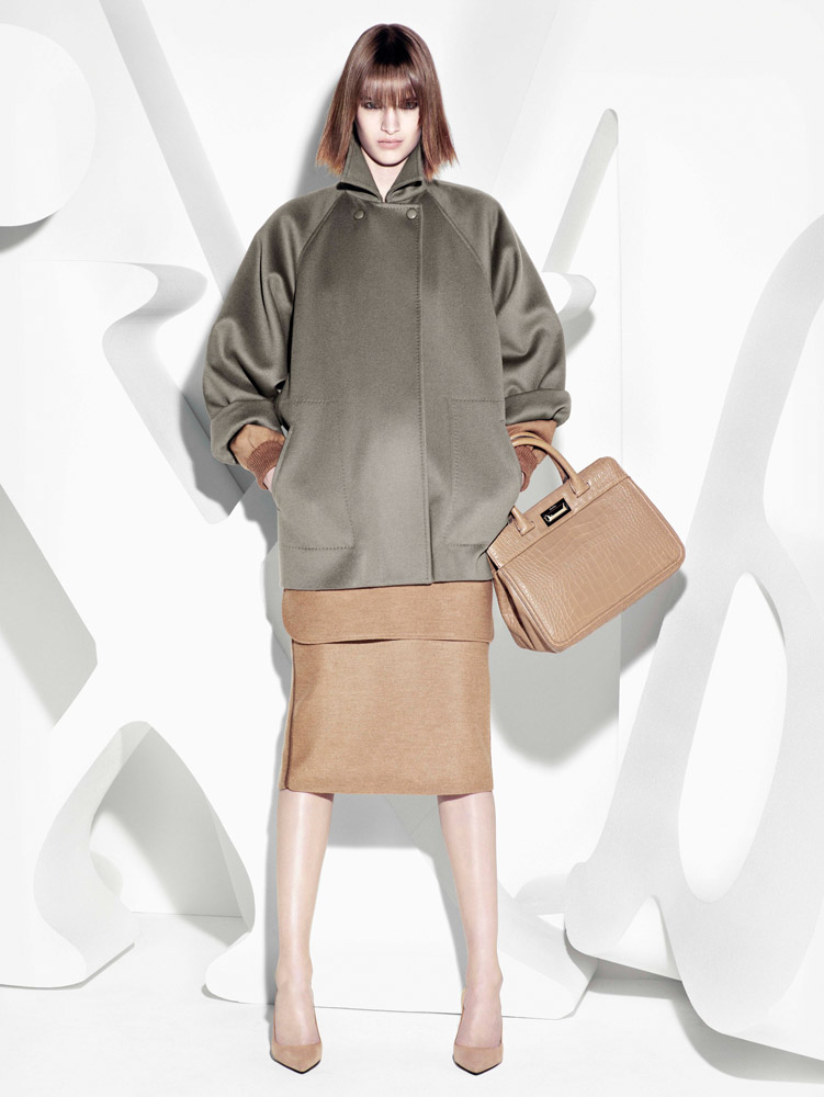max mara campaign fall5 Ashleigh Good Stars in Max Mara Fall 2013 Campaign by Mario Sorrenti