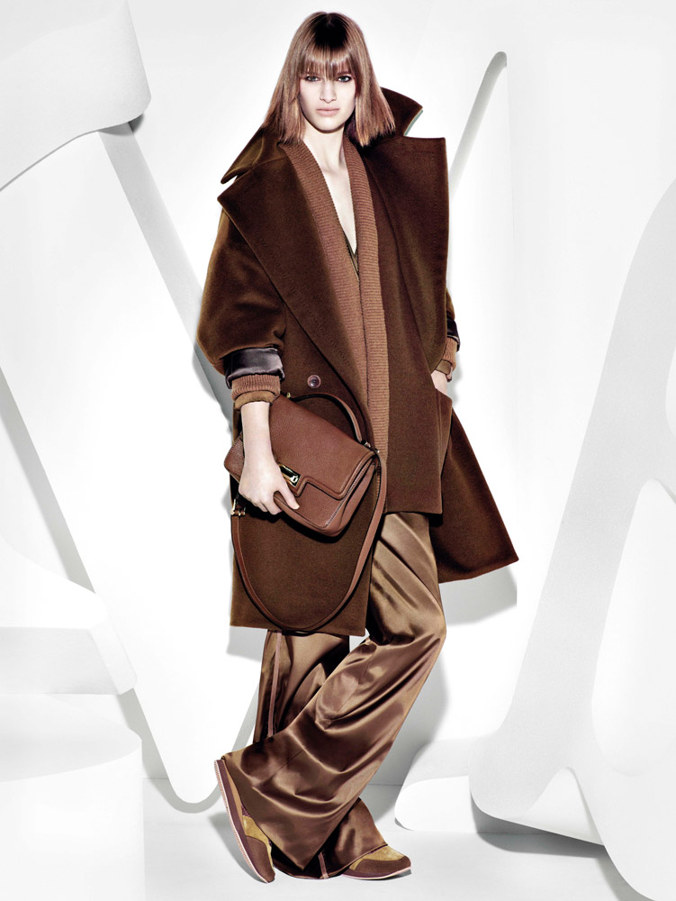 max mara campaign fall6 Ashleigh Good Stars in Max Mara Fall 2013 Campaign by Mario Sorrenti
