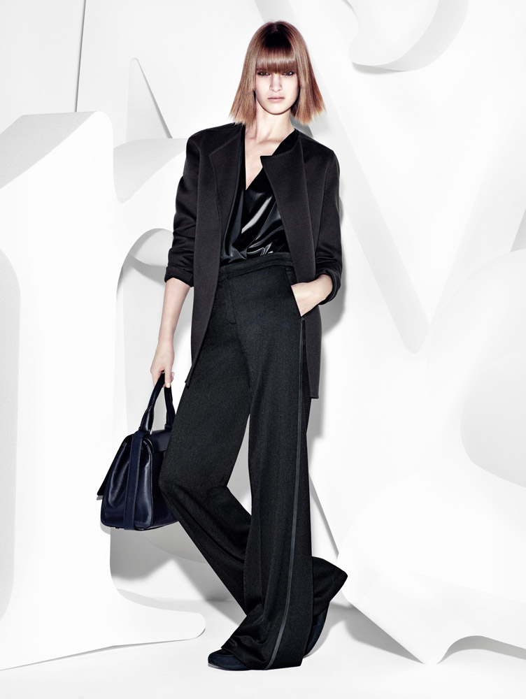 max mara campaign fall7 Ashleigh Good Stars in Max Mara Fall 2013 Campaign by Mario Sorrenti