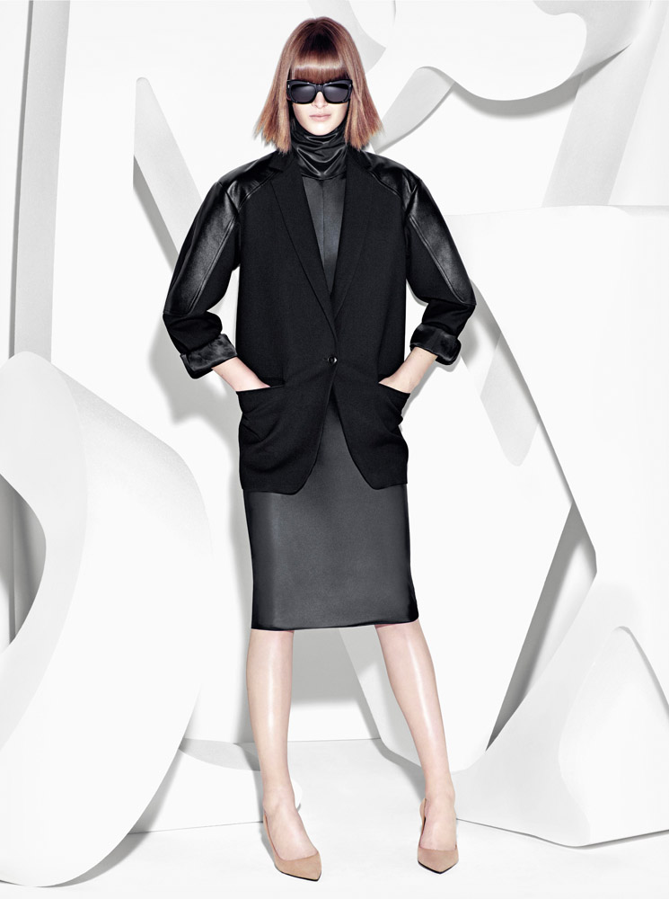 max mara campaign fall8 Ashleigh Good Stars in Max Mara Fall 2013 Campaign by Mario Sorrenti
