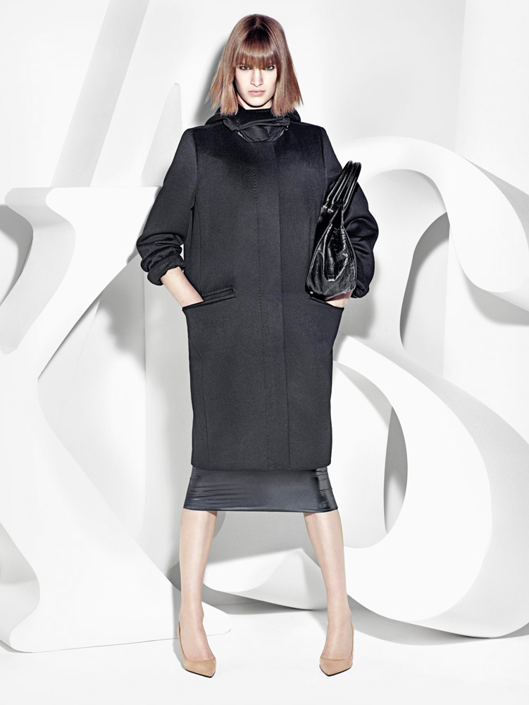 max mara campaign fall9 Ashleigh Good Stars in Max Mara Fall 2013 Campaign by Mario Sorrenti