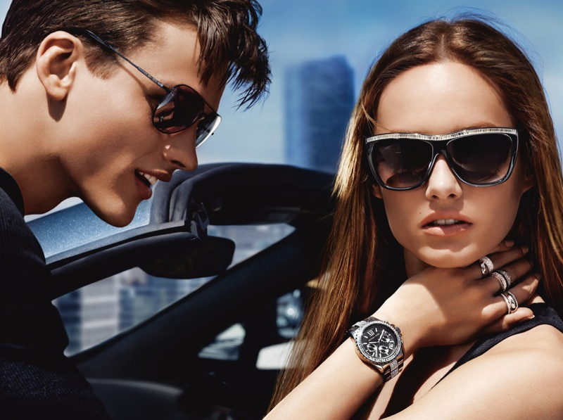 michael kors fw ads5 Michael Kors Fall 2013 Campaign Taps Karmen Pedaru for a Jetset Outing
