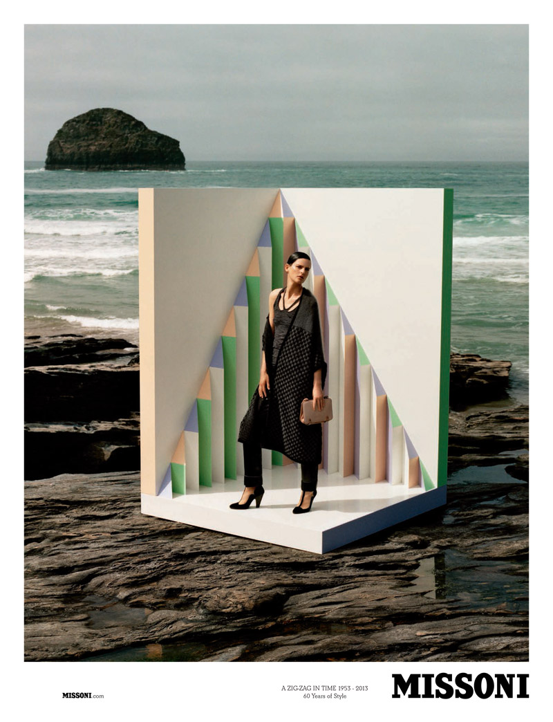 missoni fall1 Stella Tennant Stars in Missoni Fall 2013 Campaign by Alasdair McLellan