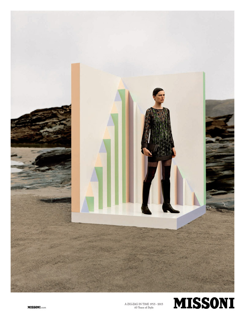 missoni fall2 Stella Tennant Stars in Missoni Fall 2013 Campaign by Alasdair McLellan