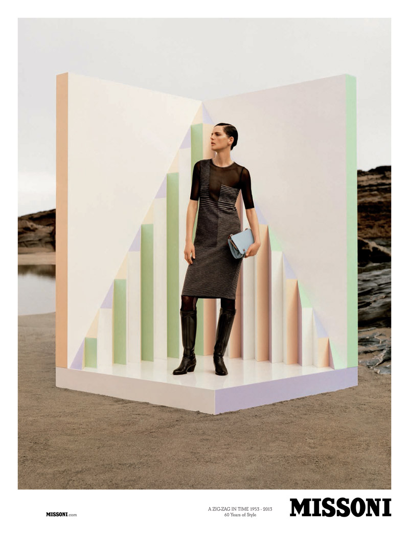 missoni fall6 Stella Tennant Stars in Missoni Fall 2013 Campaign by Alasdair McLellan