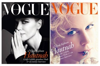 Nicole Kidman Graces Vogue Germany August 2013 Cover
