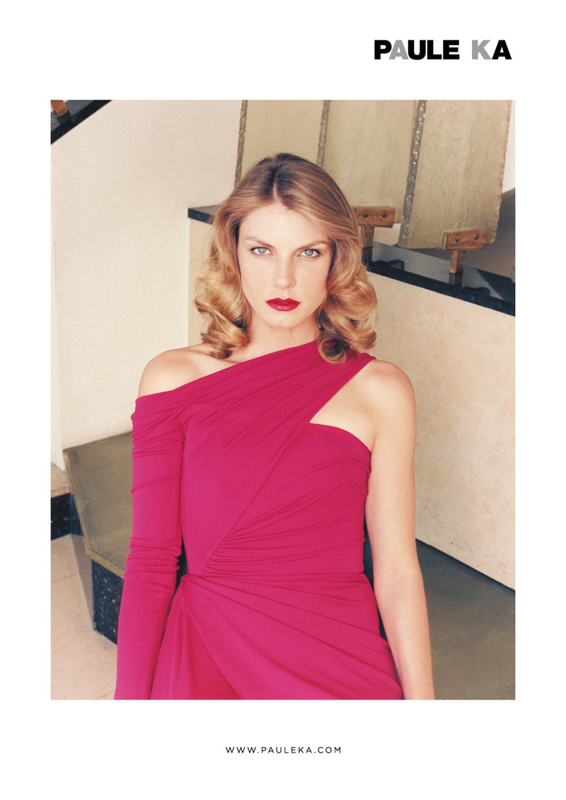 paule ka fall ads7 Angela Lindvall Stars in Paule Ka Fall 2013 Campaign by Venetia Scott