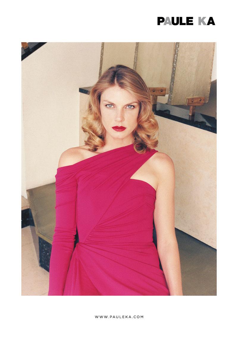Angela Lindvall Stars in Paule Ka Fall 2013 Campaign by Venetia Scott