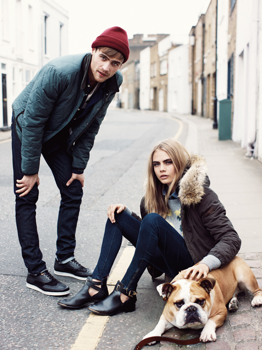 pepe jeans cara fall4 Cara Delevingne Gets Casual for Pepe Jeans Fall 2013 Campaign