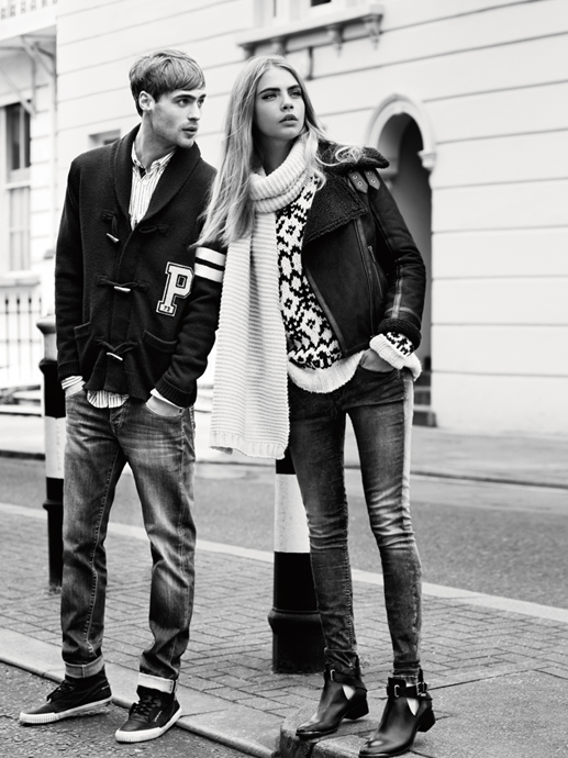 pepe jeans cara fall5 Cara Delevingne Gets Casual for Pepe Jeans Fall 2013 Campaign
