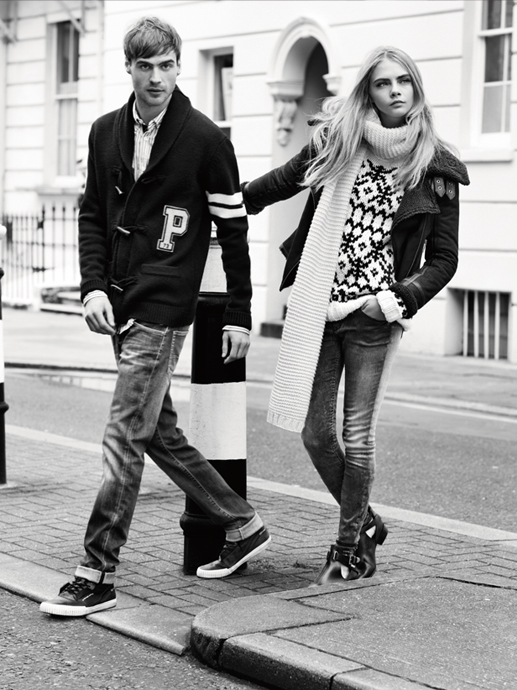 pepe jeans cara fall7 Cara Delevingne Gets Casual for Pepe Jeans Fall 2013 Campaign