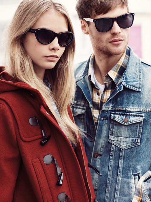 pepe jeans cara fall8 Cara Delevingne Gets Casual for Pepe Jeans Fall 2013 Campaign