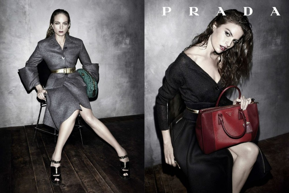 prada fall ads3 1000x667 See Pradas Complete Fall 2013 Campaign by Steven Meisel