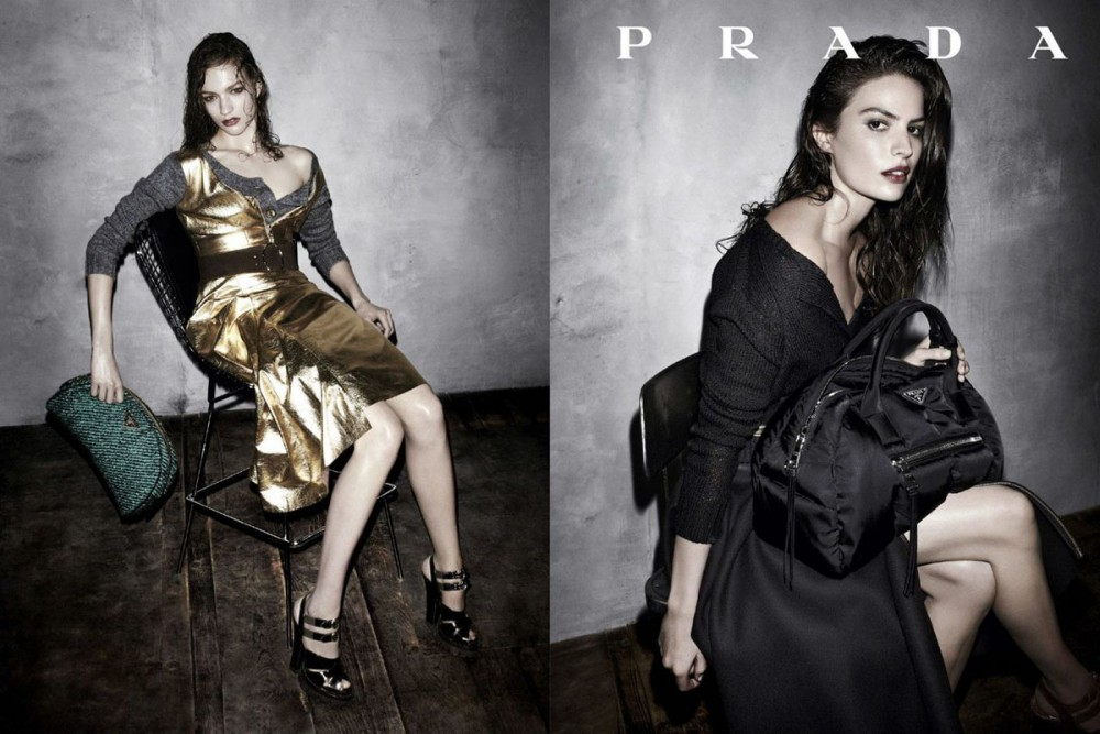 prada fall ads4 1000x667 See Pradas Complete Fall 2013 Campaign by Steven Meisel