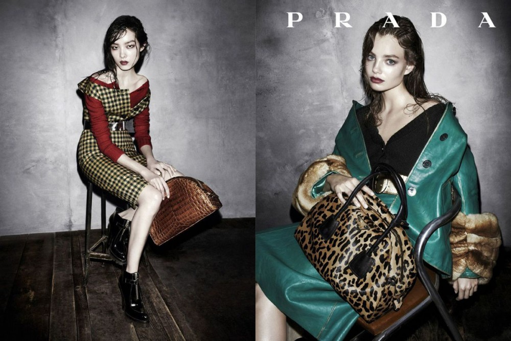 prada fall ads6 1000x667 See Pradas Complete Fall 2013 Campaign by Steven Meisel