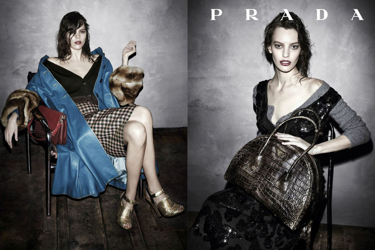 e62b7718739 See Prada s Complete Fall 2013 Campaign by Steven Meisel