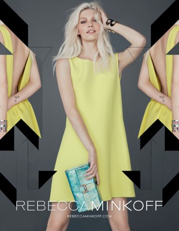 Aline Weber Gets Playful for Rebecca Minkoff Fall 2013 Campaign
