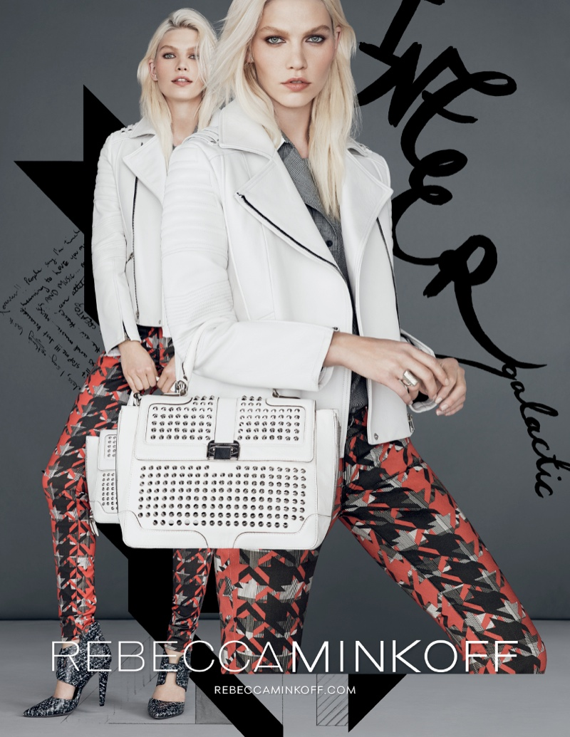 rebecca minkoff fw ads5 Aline Weber Gets Playful for Rebecca Minkoff Fall 2013 Campaign