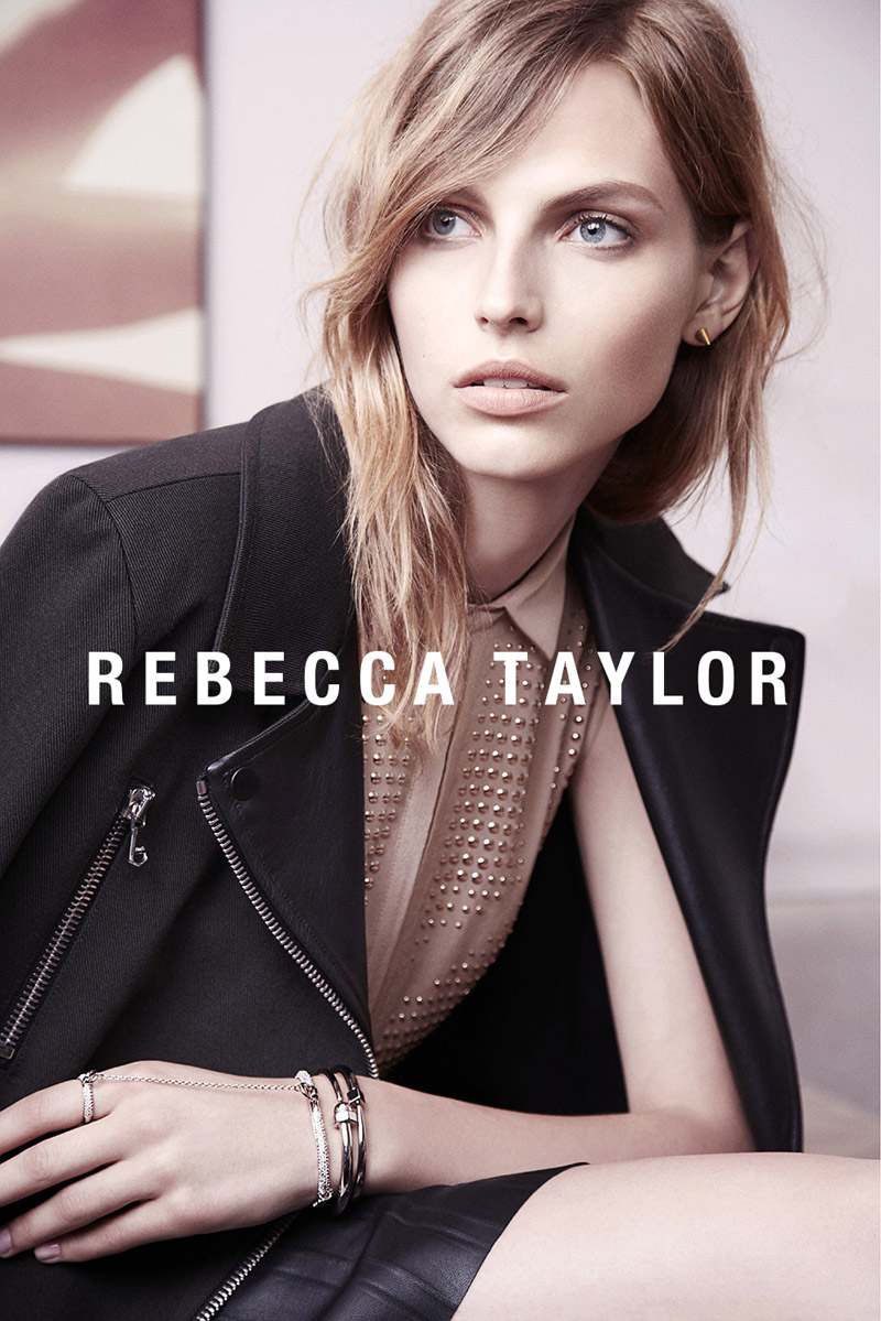 rebecca taylor fw ads3 Rebecca Taylor Fall 2013 Ads Star Karlina Caune by Carlotta Manaigo