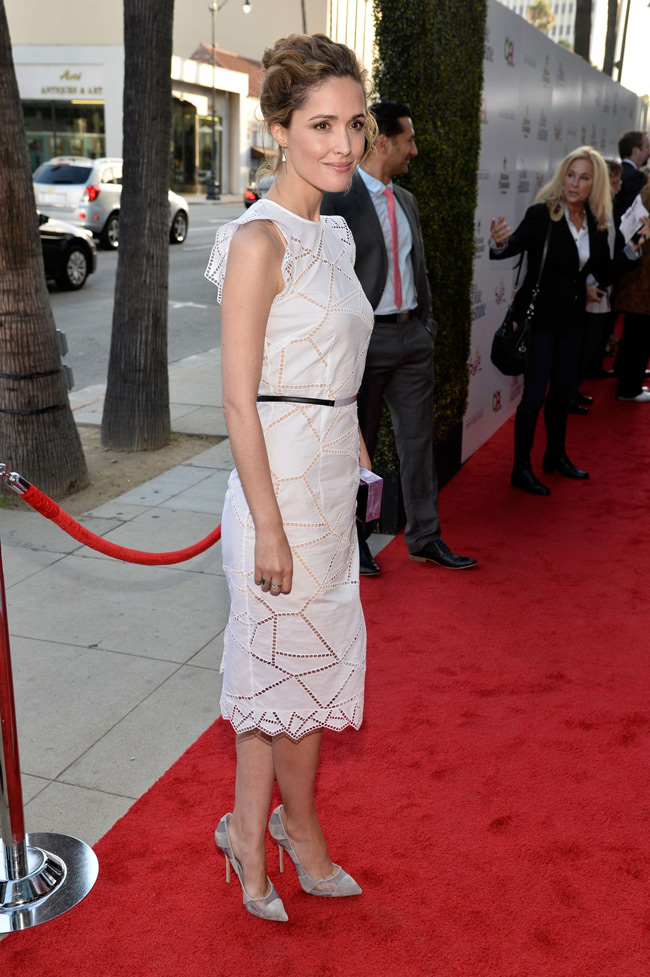 rose byrne christopher kane1 Rose Byrne Wears Christopher Kane at the Blue Jasmine Los Angeles Premiere