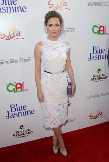 "Rose Byrne Wears Christopher Kane at the ""Blue Jasmine"" Los Angeles Premiere"