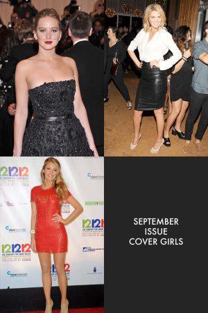 Kate Upton, Jennifer Lawrence and More September Cover Stars Revealed