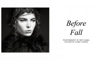 "Hannah Nobel by Seth Sabal in ""Before Fall"" for Fashion Gone Rogue"