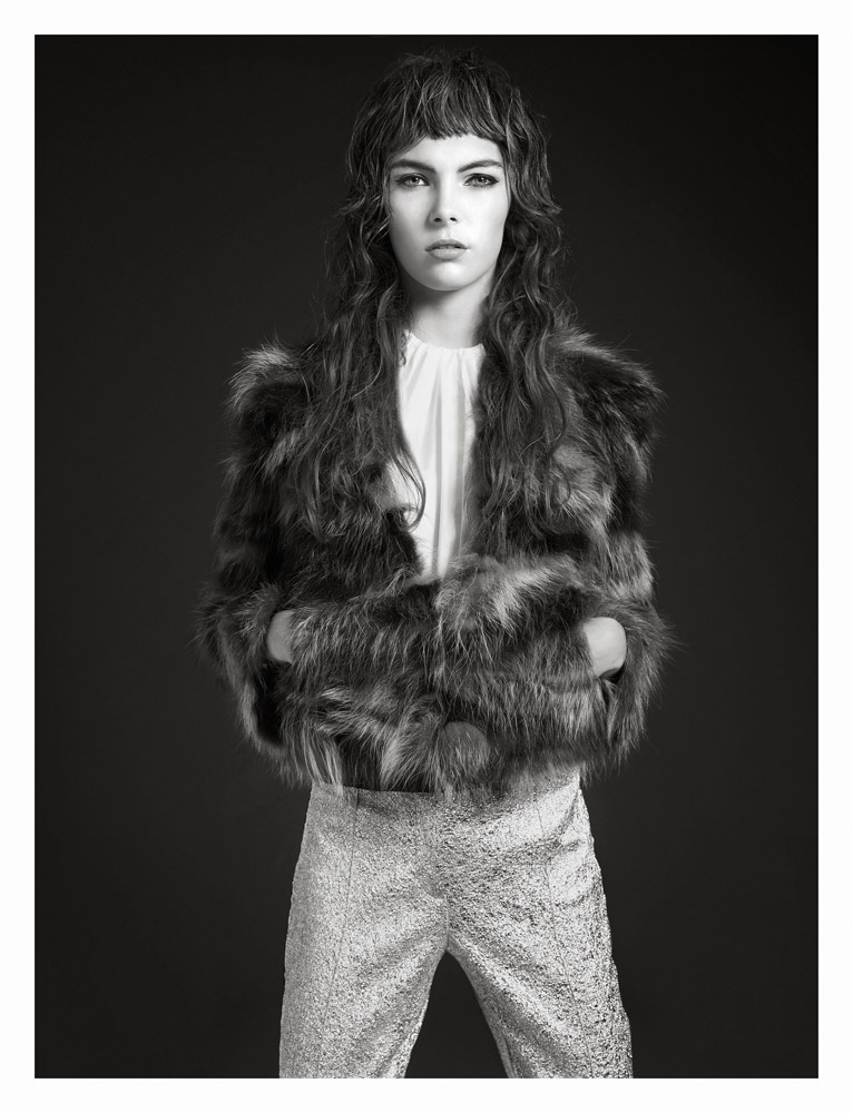 """Hannah Nobel by Seth Sabal in """"Before Fall"""" for Fashion Gone Rogue"""