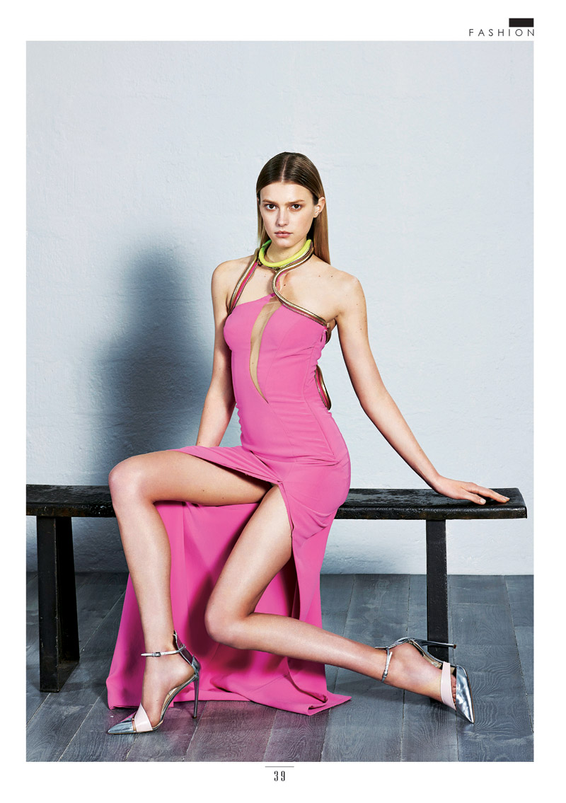 Sigrid Agren Models Couture for The Sunday Times Style by Eric Guillemain