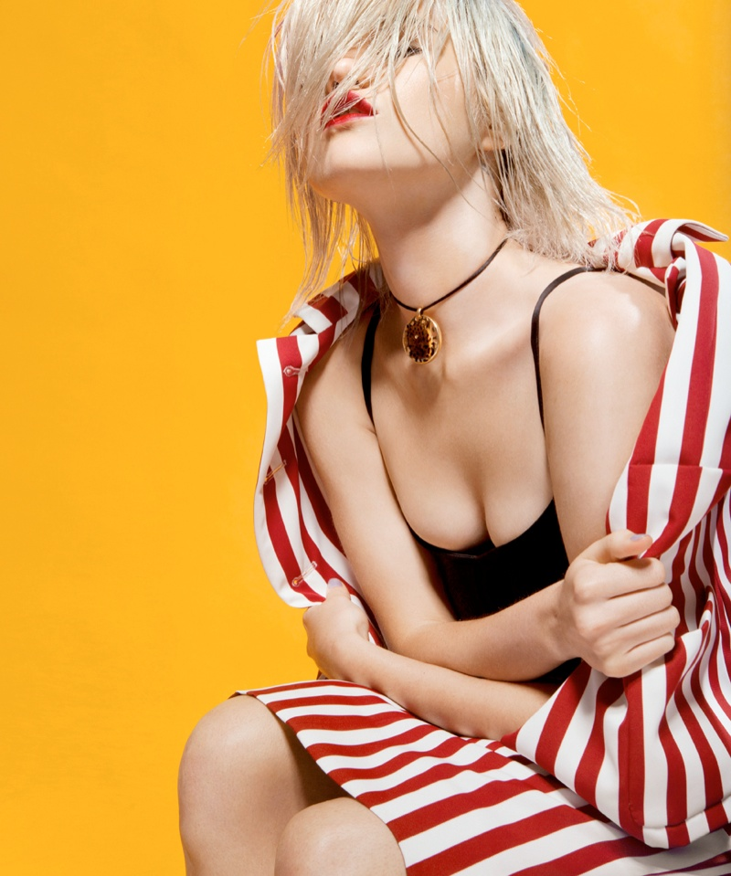 sky ferreira bullett3 Sky Ferreira Rocks Summer Style for Bullett Magazine