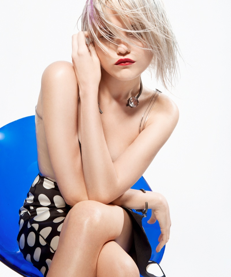 sky ferreira bullett5 Sky Ferreira Rocks Summer Style for Bullett Magazine