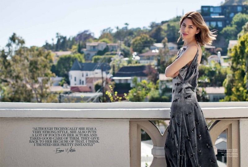 sofia coppola shoot5 800x540 Sofia Coppola Models for Vogue Australia August 2013 by Paul Jasmin