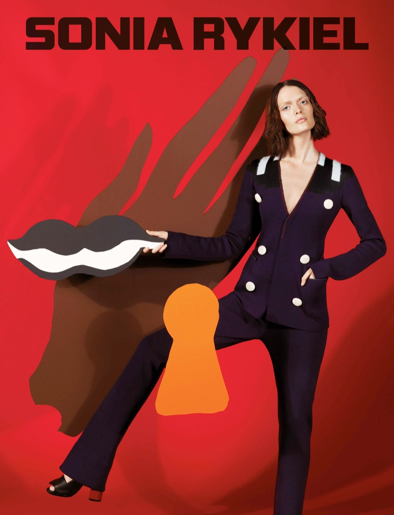 Sam Rollinson Stars in Sonia Rykiel Fall 2013 Ads by Mert & Marcus