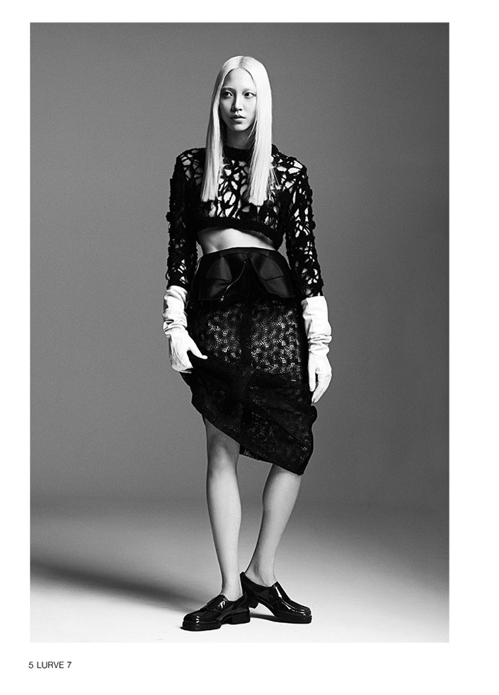 soo joo model1 Soo Joo Sports Cutting Edge Style for Lurve Magazine