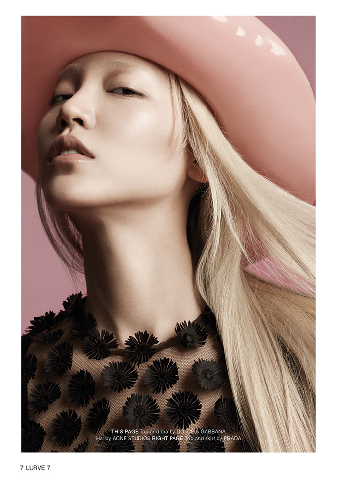 soo joo model3 Soo Joo Sports Cutting Edge Style for Lurve Magazine