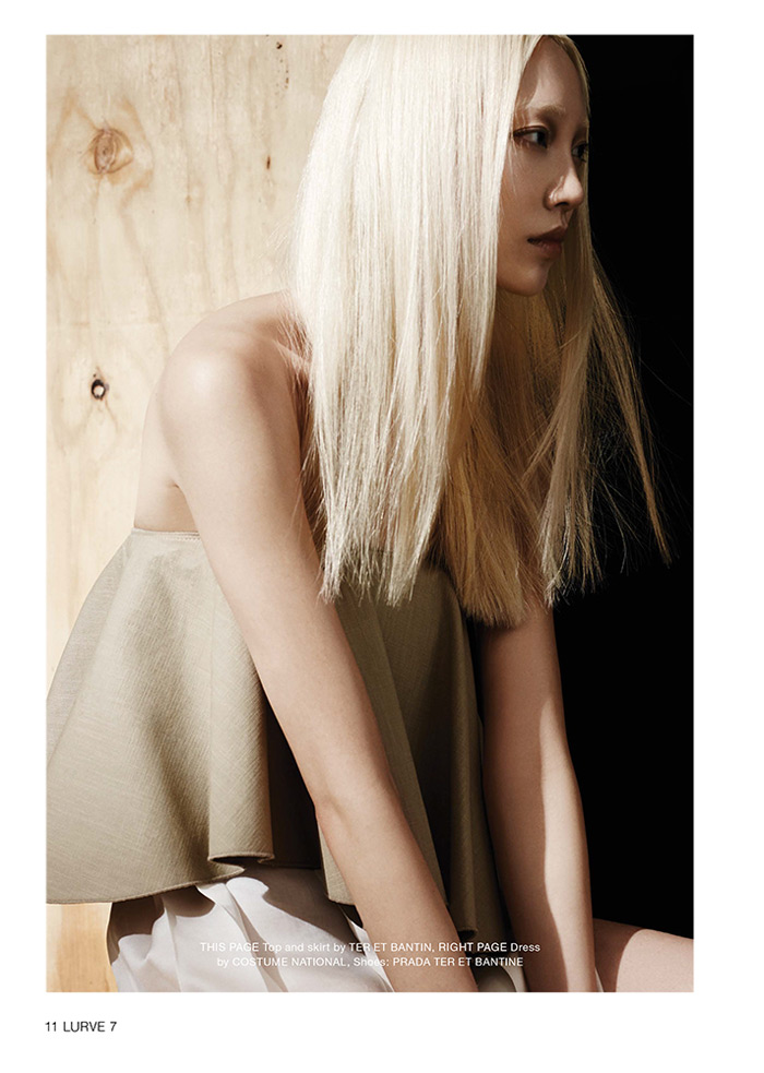 soo joo model7 Soo Joo Sports Cutting Edge Style for Lurve Magazine