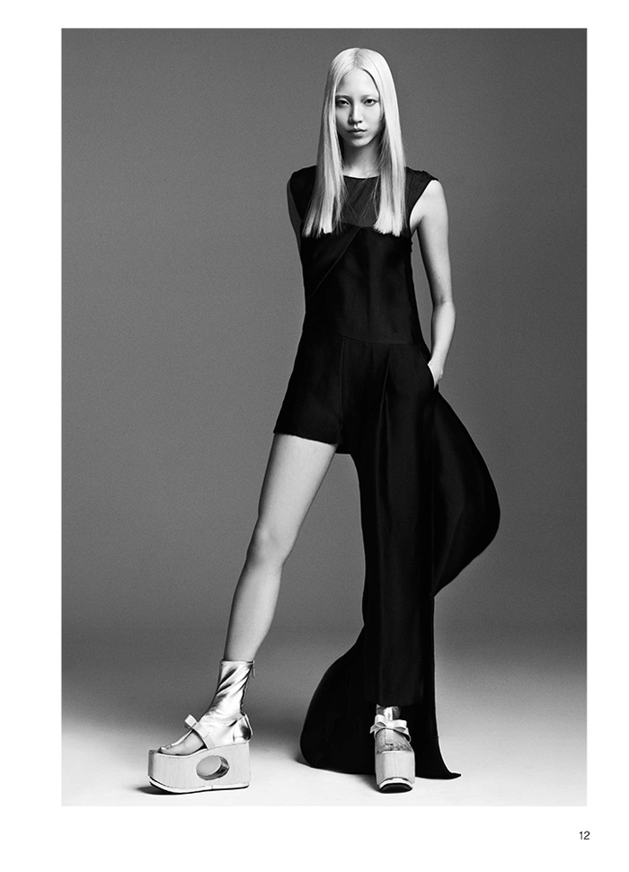 soo joo model8 Soo Joo Sports Cutting Edge Style for Lurve Magazine
