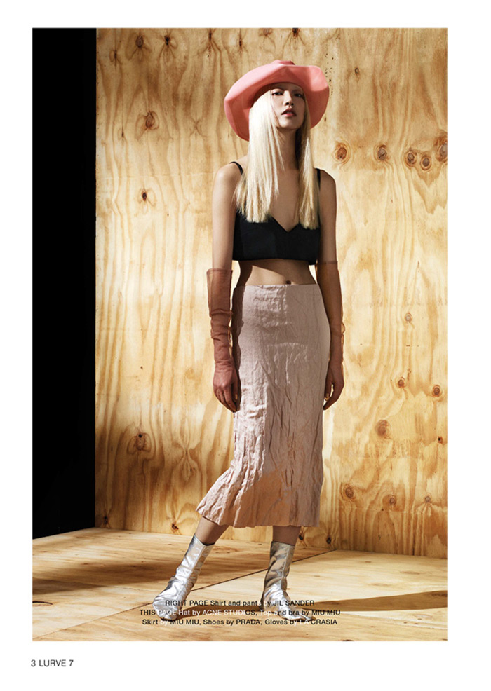 soo joo model9 Soo Joo Sports Cutting Edge Style for Lurve Magazine
